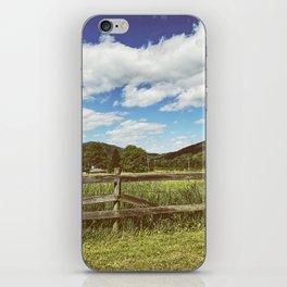 Fencing •Appalachian Trail iPhone Skin