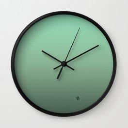 butterfly lost in translation Wall Clock