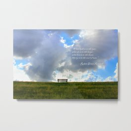 What light is to the eyes... Metal Print