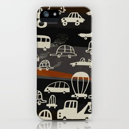 automobiles in a jam iPhone Case