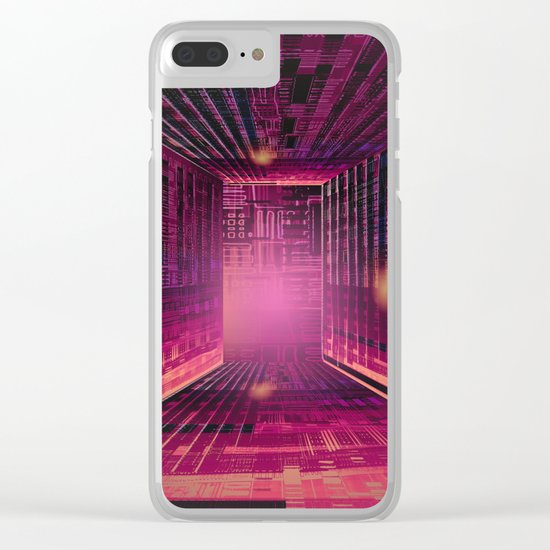 Enjoy the Labyrinth the Exit is an Illusion / 16-01-17 Clear iPhone Case