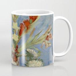 "Vincent Van Gogh ""Vase with Gladioli and Chinese Asters"" Coffee Mug"