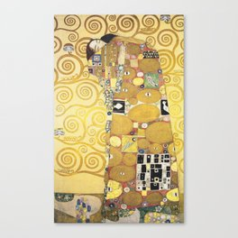Gustav Klimt - Tree of Life (detail) 1909 Canvas Print