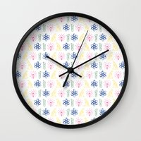science Wall Clocks featuring SCIENCE by BearandBugle