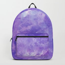 Violet galaxy Backpack