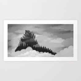 The Beast Art Print