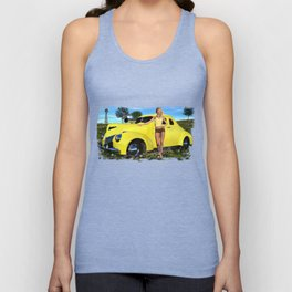 Two Beautiful Blondes Unisex Tank Top