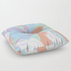 Pastel Paint Floor Pillow