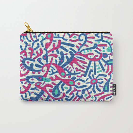 - summer sea jungle - Carry-All Pouch