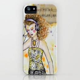 She Listens iPhone Case