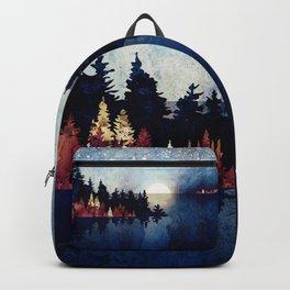 Autumn Moon Reflection Backpack