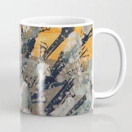 Abstract camouflage pattern Coffee Mug