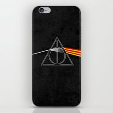the darkside of the deathly hallows iPhone & iPod Skin