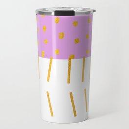 AZTEC BABE - Modern Pink Furniture Travel Mug