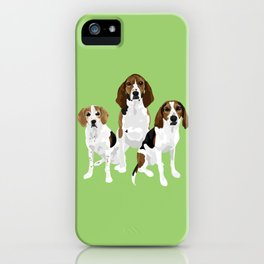 Gracie Lincoln and Greta iPhone Case
