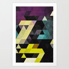 scrytch tyst Art Print