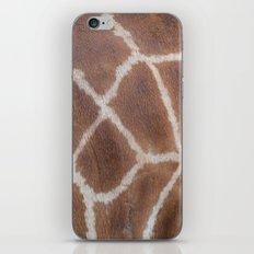 Giraffe pattern iPhone & iPod Skin