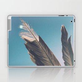 Brown Feathers Laptop & iPad Skin