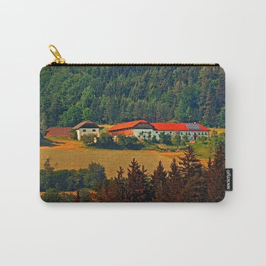 Farm taking an afternoon nap Carry-All Pouch