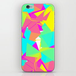 Abstract Rainbow iPhone Skin