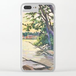 The Wilcox Lake 2016 Clear iPhone Case
