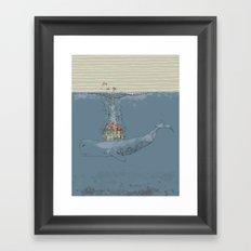 Ocean Home Framed Art Print
