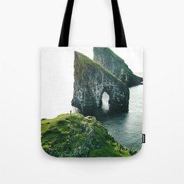 faroe landscape Tote Bag