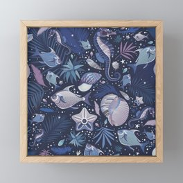 The Magic of the Sea Framed Mini Art Print