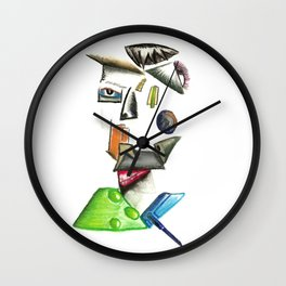 Working for the Man Wall Clock