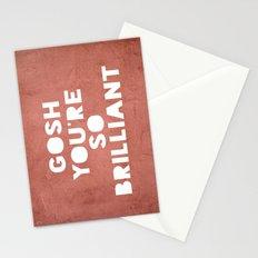 Gosh (Brilliant) Stationery Cards