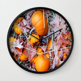 Fall in New England Wall Clock