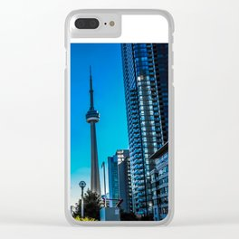 Downtown Toronto View Clear iPhone Case