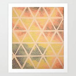 I Dot Believe My Eyes Art Print