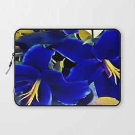 Blue Lilies Laptop Sleeve