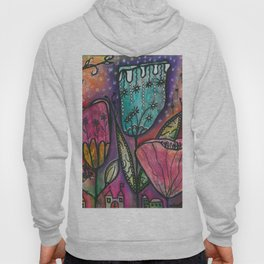 They live under flowers Hoody