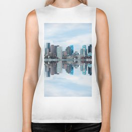 Boston reflection Biker Tank