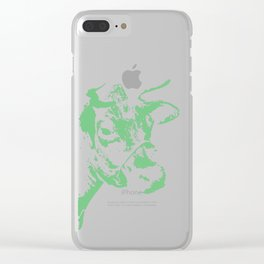 Follow the Green Herd #778 Clear iPhone Case