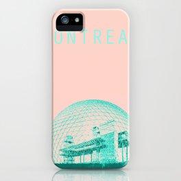 Montreal Biosphere Pastel iPhone Case