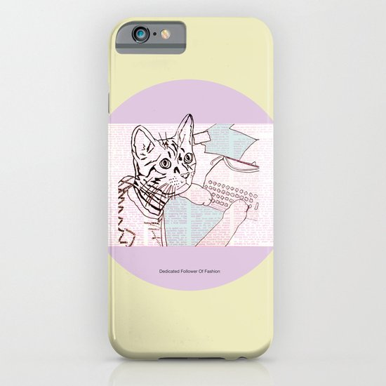 Dedicated Follower Of Fashion  iPhone & iPod Case