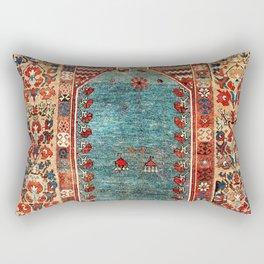 Kurdish East Anatolian Niche Rug Print Rectangular Pillow