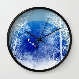 winter day Wall Clock