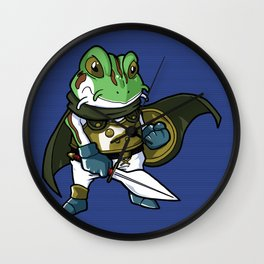 It ain't easy being a green hero Wall Clock