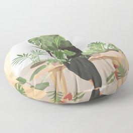 My Little Garden II Floor Pillow