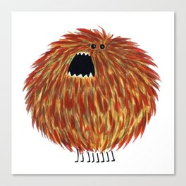 Poofy Chewbacca Canvas Print