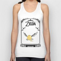 the legend of zelda Tank Tops featuring Zelda legend - Navi by Art & Be