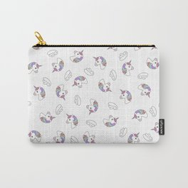 Unicorns Wings Light Carry-All Pouch