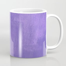 Violet Painted Wall Texture Coffee Mug