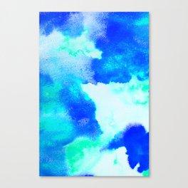 Blue Java Canvas Print
