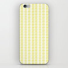 Yellow dots iPhone & iPod Skin