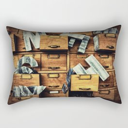 Filing System Rectangular Pillow